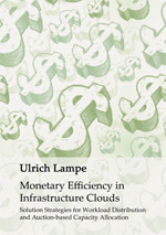 "Cover of the book ""Monetary Efficiency in Infrastructure Clouds"""